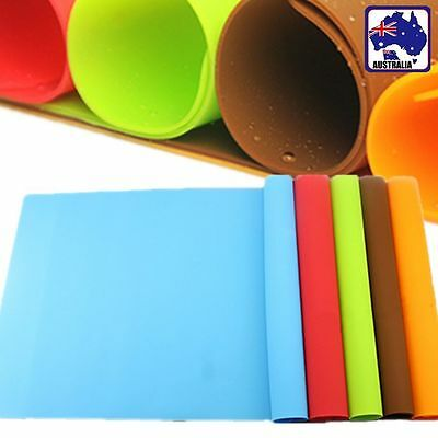 30x40cm Silicone Oven Baking Sheet Mat Liner Clay Pastry Rolling Placemat HKCUS