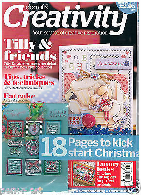Docrafts Creativity Magazin 40 Juli 2013 Tilly Daydream + Gratis Christmas