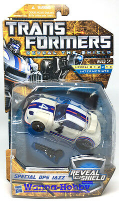 58002 Transformers Reveal The Shield Special Ops Jazz Misb Free Shipping