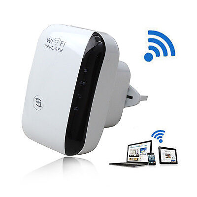 Wireless 300Mbps Long Wifi Range Router Repeater Booster Extender Internet WPS