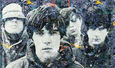 """MX01160 The Stone Roses - Ian Brown Alternative Rock Music 24""""x14"""" Poster"""