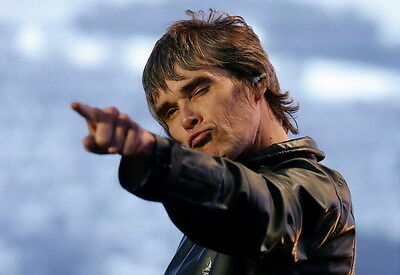 """MX01168 The Stone Roses - Ian Brown Alternative Rock Music 20""""x14"""" Poster"""