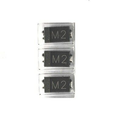 100Pcs 1N4002 IN4002 M2 DO-214 (SMD) TOSHIBA Diode NEW