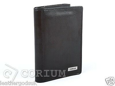Document Card Holder Cover Wallet Pouch ID Case Natural Leather