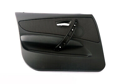 BMW 1 Series E87N LCI Door Card Lining Panel Front Left N/S Network Anthrazit