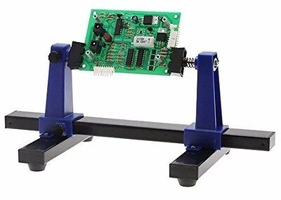 Circuit Board Holder Adjustable Vise Electronics Repair Clamp Soldering Stand