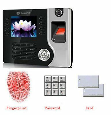 Realand Biometric Fingerprint Attendance Time Clock+ ID Card Reader&Tcp/ip&Usb