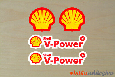 PEGATINA STICKER VINILO Shell V-Power autocollant aufkleber adesivi