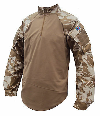 British Army Underbody Armour Combat Shirt - Small Size Only - New - Desert