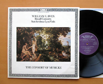 DSLO 573 William Lawes Royall Consort The Consort Of Musicke 1980 NM/EX + insert