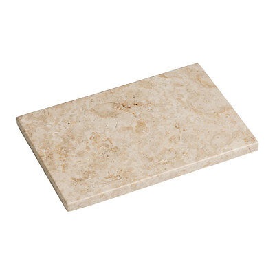 Large White Marble Chopping Board Cutting Slicing Worktop Saver Pastry Serving