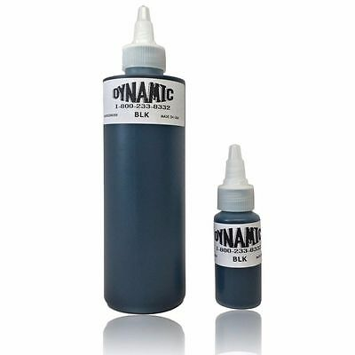 Tinta Tatuaje Negro Dynamic Tattoo Black Ink - BLK - 100% Original - Made in USA