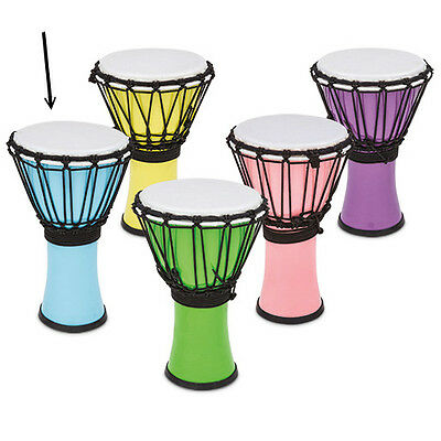 Toca Freestyle Colorsound Djembe 7' - TFCDJ-7PB - Pastel Blue