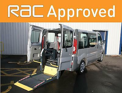Renault Trafic 2007 wheelchair accessible vehicle WAV car disabled mobility