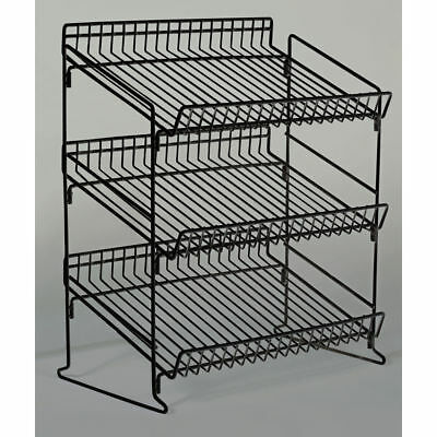 Retail Counter Display Rack, 3 Tier, Wire, 93335