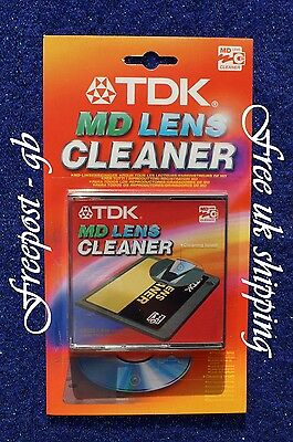 Mini Disc Laser/ Lens Cleaner - Super Quality Cleaning - Tdk With Sound Check