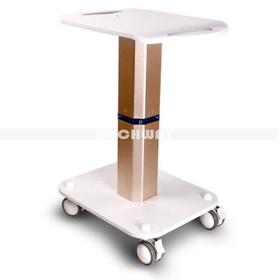 Beauty Trolley Pedestal Rolling Cart Roller Wheel ABS Cavitation Ultrasonic RF