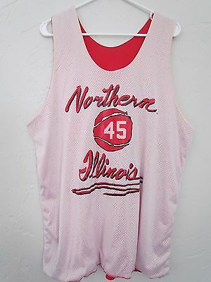 Northern Illinois Vintage Reversible Champion College Basketball Jersey Size Xl