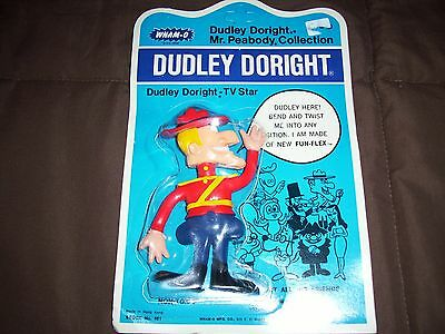 1972 Wham-O Dudley Doright Bendable Figure Still In Original Package