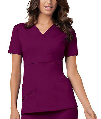 Cherokee Luxe Mock Wrap Scrub Top 1841 *Variation of Colours & Sizes