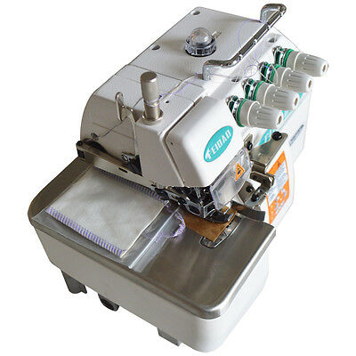 New 4-line Overlock Sewing Machine Serger Industrial Sewing Machine 220V Clothes