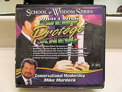 Mike Murdock School of Wisdom Series *21 CD Set What I Wish Every Protege Knew