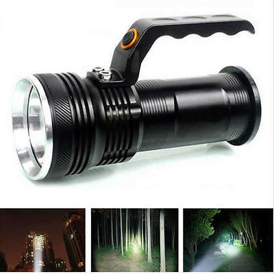 5000LM Handheld 3-mode  XM-L Rechargeable LED 18650 Flashlight Torch Lamp
