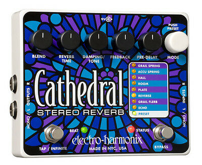 Electro Harmonix Cathedral - Stereo Reverb