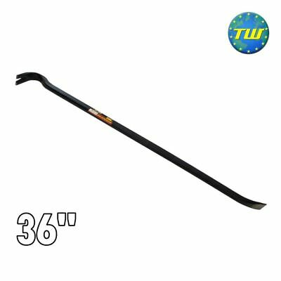 "36"" Steel Board Lifting Swan Neck Strong Arm Tool Builders Crow Bar Wrecking DIY"