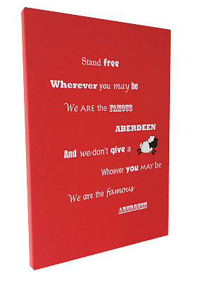 Aberdeen FC Stand Free (1) print or canvas print