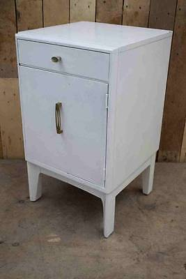 """Retro Vintage Wooden """"Remploy"""" Bedside Cabinet / Cupboard - Upcycle?"""