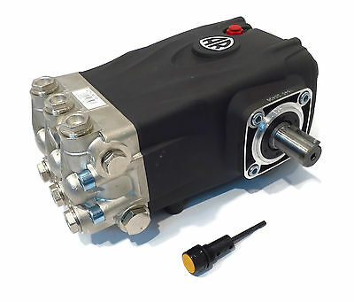 PRESSURE WASHER PUMP replaces Interpump WS202 - 3600 PSI, 5.5 GPM Solid Shaft