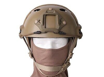 "Casque Protection Airsoft Paintball Emerson Fast Helmet Tan ""neuf"" Air0928"