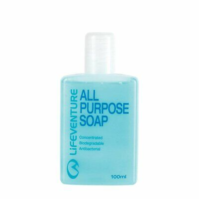 Lifeventure All Purpose Eco Friendly Biodegradable Soap - 100ml or 200ml