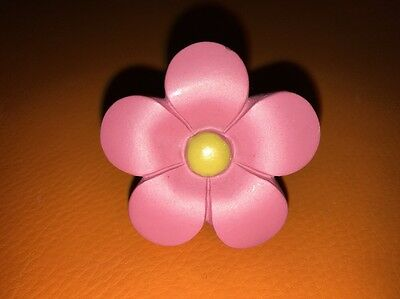 "New Daisy Ceramic Drawer Pull (s) Pink 2"" W Screw Dresser Hardware Knob Handle"