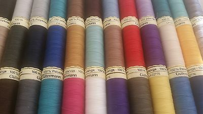 Gutermann 100M Sew All Thread Polyester Sewing