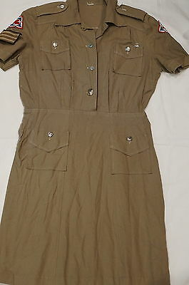 Canadian Womens Army Corps CWAC Sergeant Summer Dress Uniform