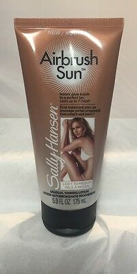 Sally Hansen Airbrush Sun Light to Medium Gradual tanning lotion  up to 7 days