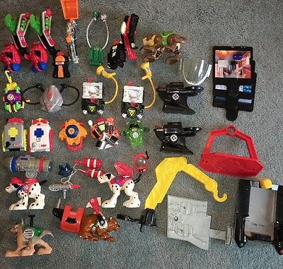 Huge Lot Of Rescue Heroes Power Max - Backpack Replacement Parts Accessories 30+