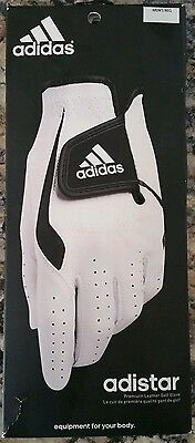 NEW! GOLF ADIDAS Adistar Premium Leather Left GLOVE for Right Handed Many Sizes