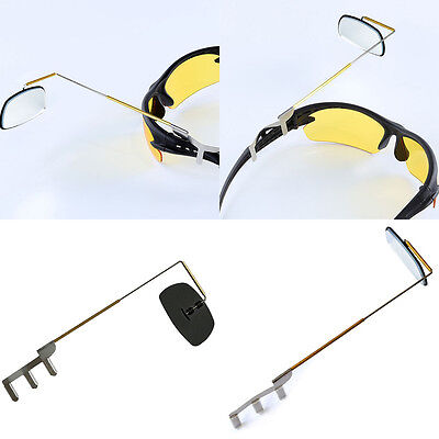 Bike Bicycle Cycling Riding Mirror Helmet Mount Rearview Eyeglass Accessories