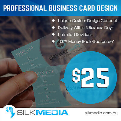Professional Unique Custom Business Card Design – Vector File,Unlimited Revision