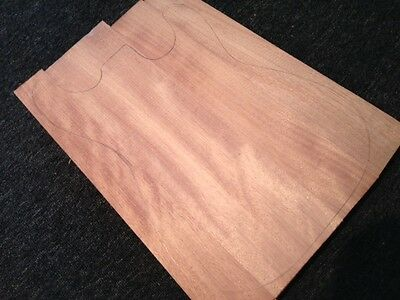 Guitar Body Blank – Mahogany (std)