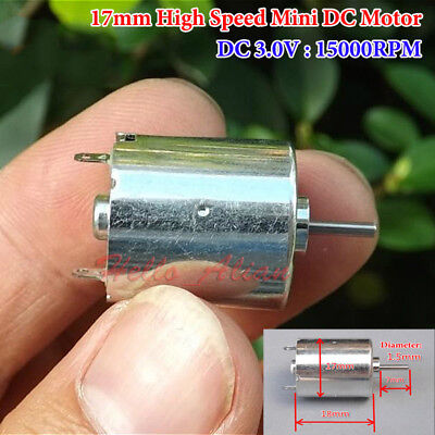 300 Mini Vibration Motor Carbon Brush DC 2V-5V 120mA for Electric Massager DIY