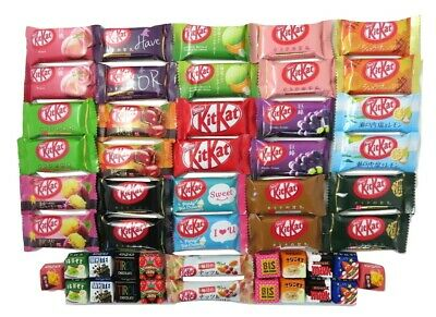 30 Japanese sweet KitKat 24 flavors Japanese Candy box birthday gift chocolate