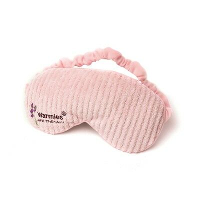 Warmies Lavender Scented Soft Fleece Pink Spa Therapy Microwavable Eye Mask