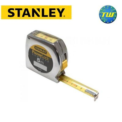 Stanley Powerlock Pocket Window Tape Measure 5m Top Reader 0-33-932 STA033932