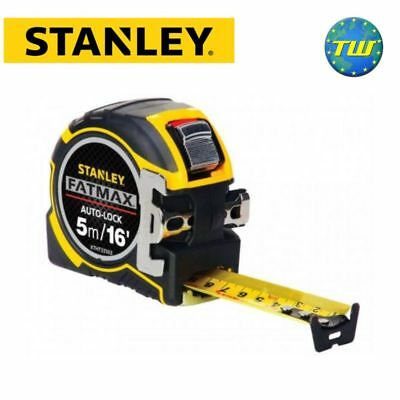 Stanley FatMax Professional Autolock Tape Measure 5m 16ft XTHT0-33503 STA033503