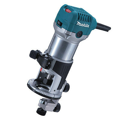 "Makita RT0700CX4 240v 710w 1/4"" router trimmer 3 year warranty option"