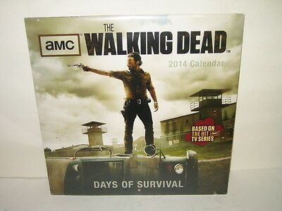 2014 The Walking Dead  Calendar NEW Factory Sealed AMC
